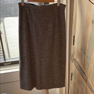 Club Monaco grey pencil skirt - 0